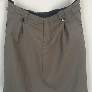 Prada NWOT tags aline/full skirt